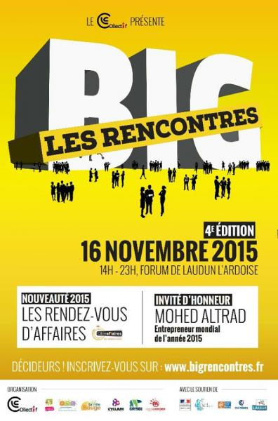 Affiche salon BIG Business In Gard